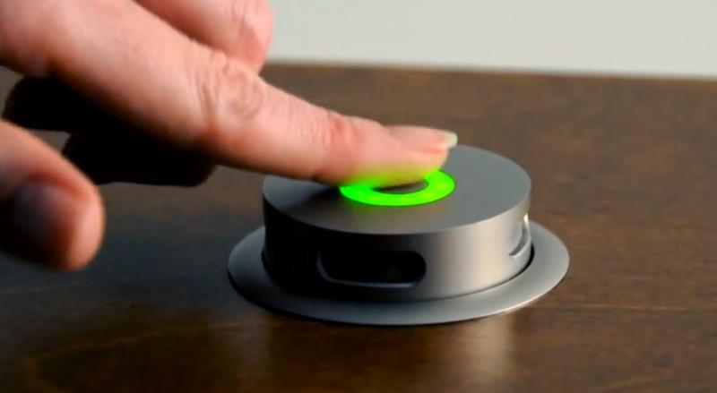 Cie Av Solutions Clockaudio Retractable Thru Desk Cardioid