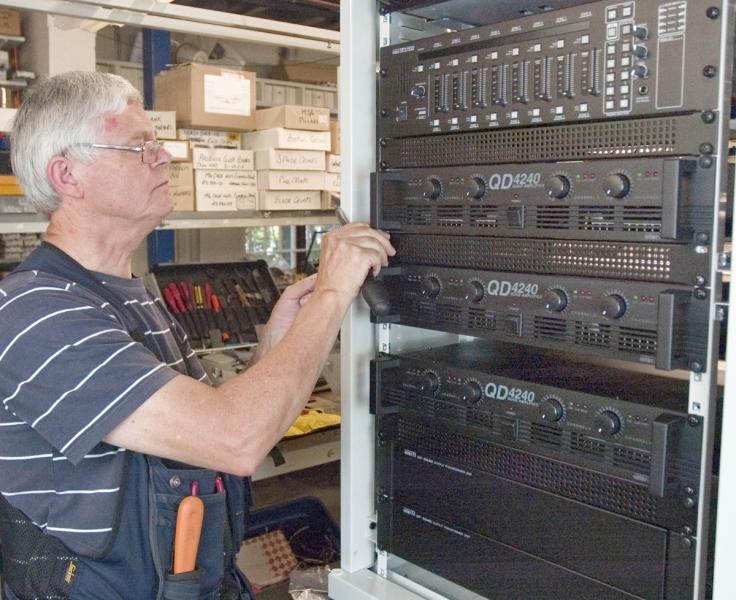 System Rack Build Pa Av Design