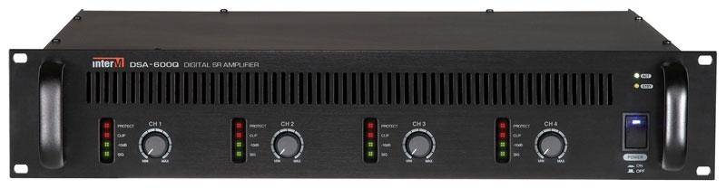 CIE AV Solutions Inter-M 4 Channel Digital Power Amplifier