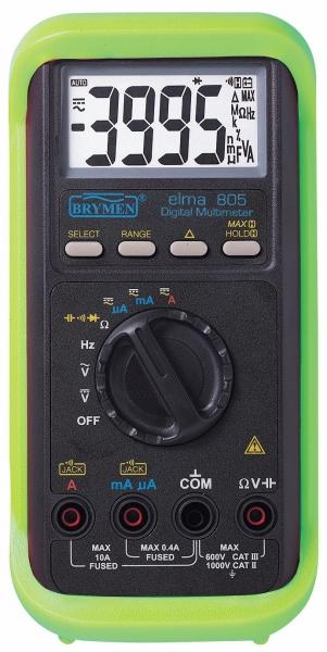 Digital Multimeter 20a 1000v : Cie group elma v ac dc digital multimeter