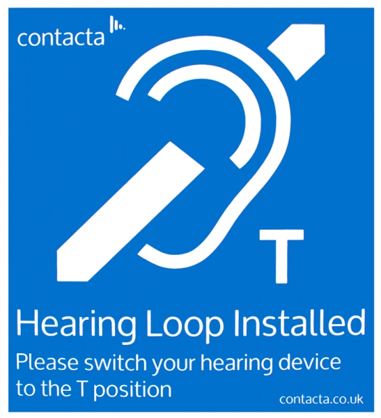 Cie Av Solutions Contacta Fixed Hearing Loop Installed