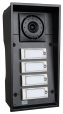 IP Force Intercom - 4 call buttons, camera, 10W speaker