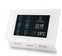 Indoor Touch - Touchscreen Digital Intercom, PoE, White