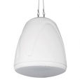 All-in-one IP Audio Suspended Pendant Speaker, White
