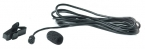 Lavalier Omni-directional Microphone, Tiny Q, black
