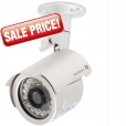 IP66-rated Outdoor Day/Night Bullet Camera with LEDs