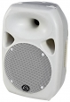"8"" 180W RMS Active Polypropolene Music Cabinet Loudspeaker, White"