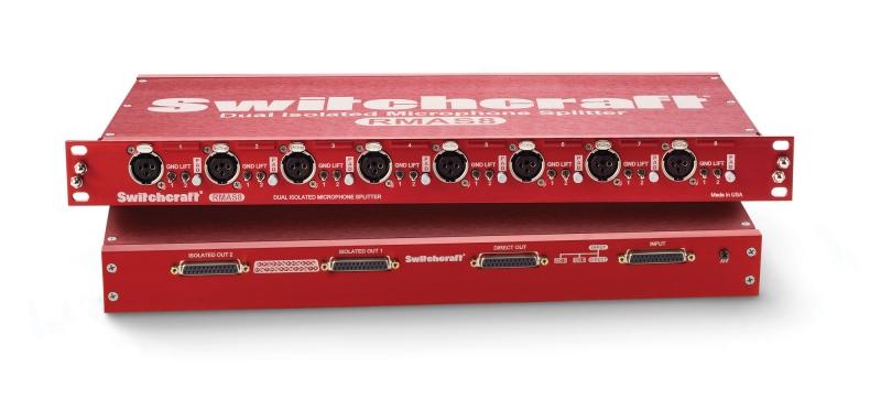 CIE-Group Switchcraft 3-way Microphone Splitter RMAS8