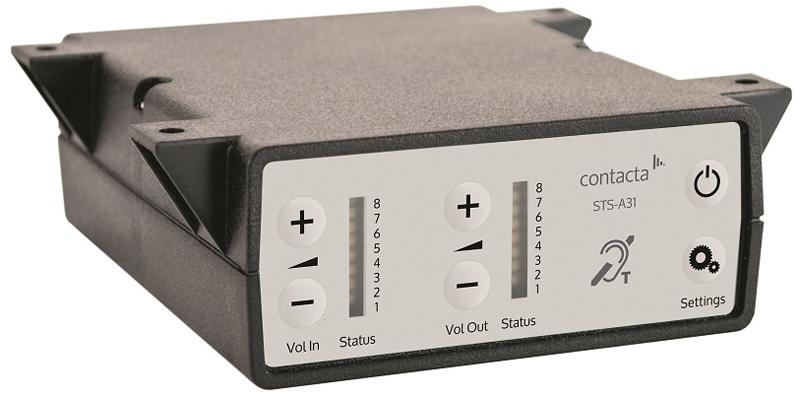 Cie Av Solutions Contacta Speech System Amplifier Sts A31