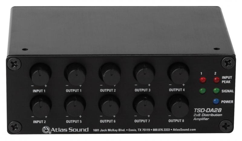 Cie Av Solutions Atlas Ied Tsd Twin 1 In 4 Out Line Level